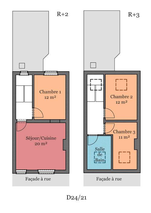 Partager une chambre en deux 18 pour dcorer une chambre for Partager une chambre en deux